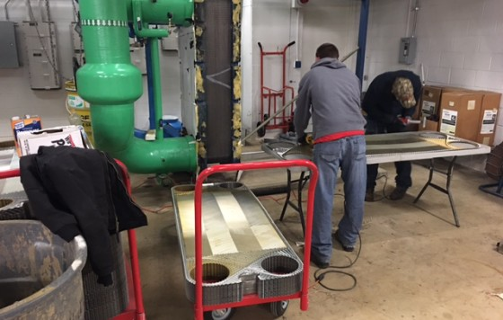 ABM Heat Exchanger Cleaning